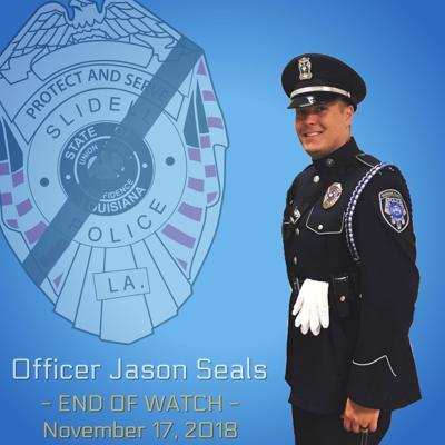 Funeral set for fallen Slidell Police officer Jason Seals