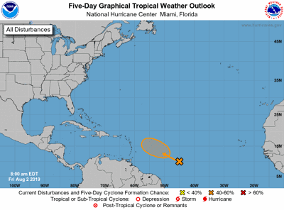 Tropical weather update 080319
