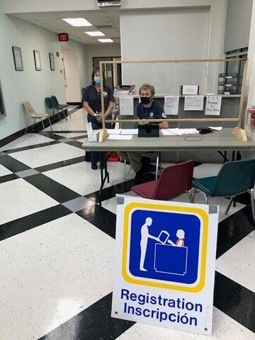 """FEMA recovery """"lobby"""" in Marrero"""