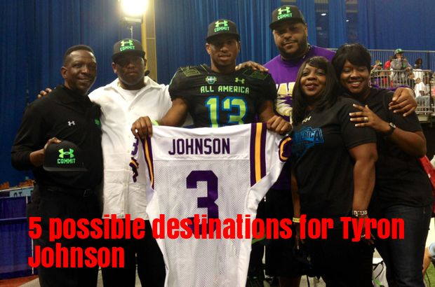 new concept 6f265 42535 LSU WR transfer Tyron Johnson's 5 most logical options ...
