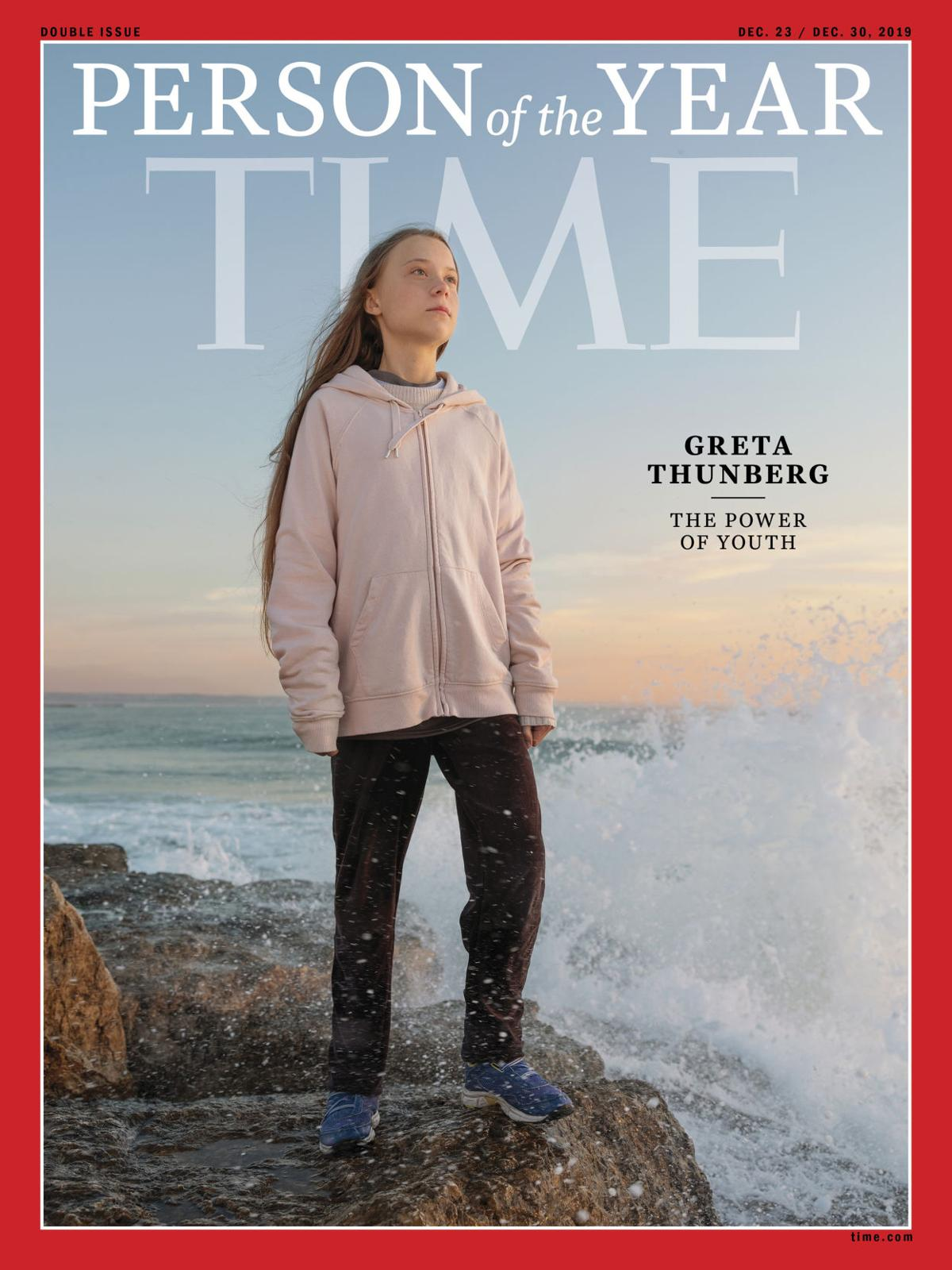 Time Person of the Year Greta Thunberg