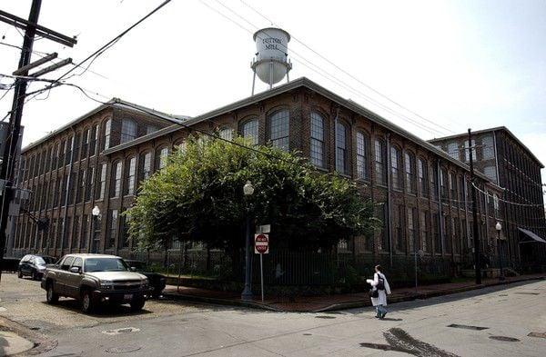 The Cotton Mill condo complex in 2004