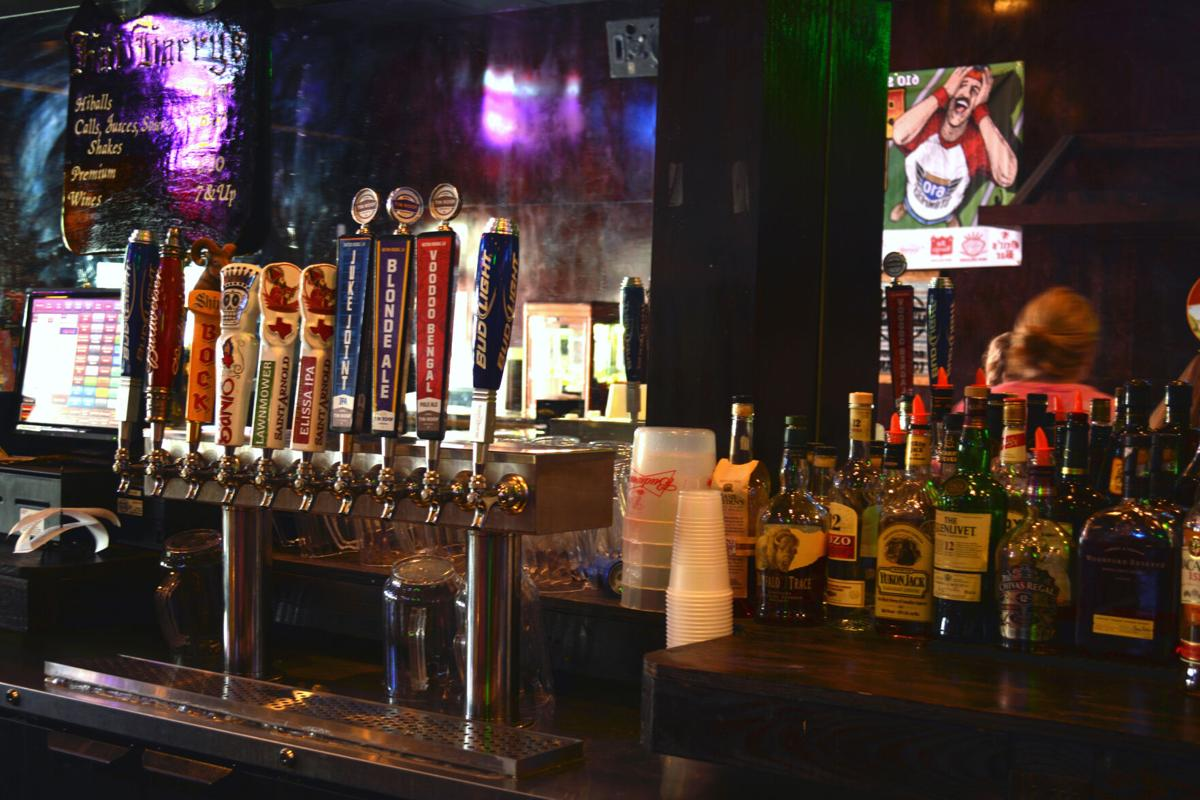 Fat Harry's beer on draft selection.jpg