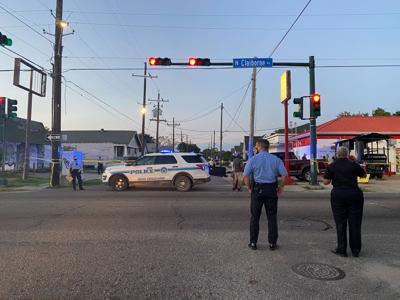 North Claiborne Avenue and Desire Street homicide, September 16, 2020