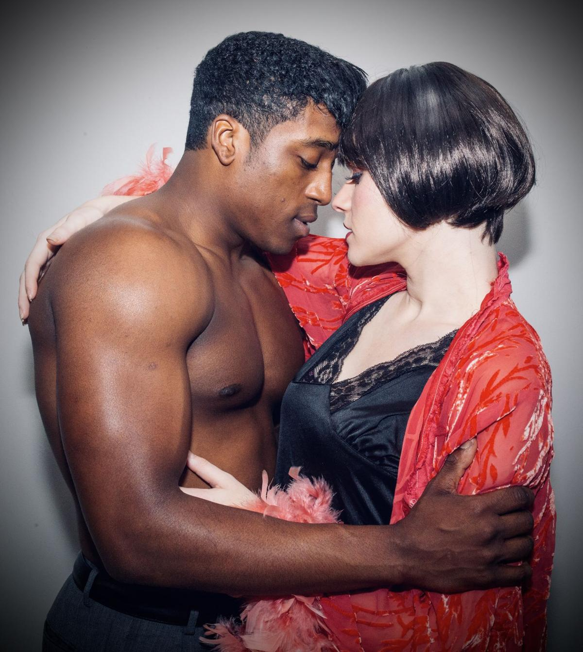Josiah Rogers and Kali Russell star as Cliff Bradshaw and Sally Bowles in Cabaret.jpg