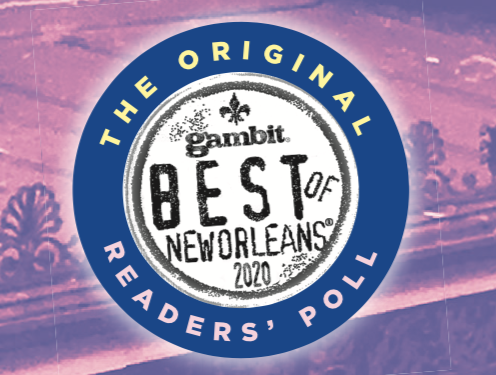 Vote Now Best of New Orleans 2020