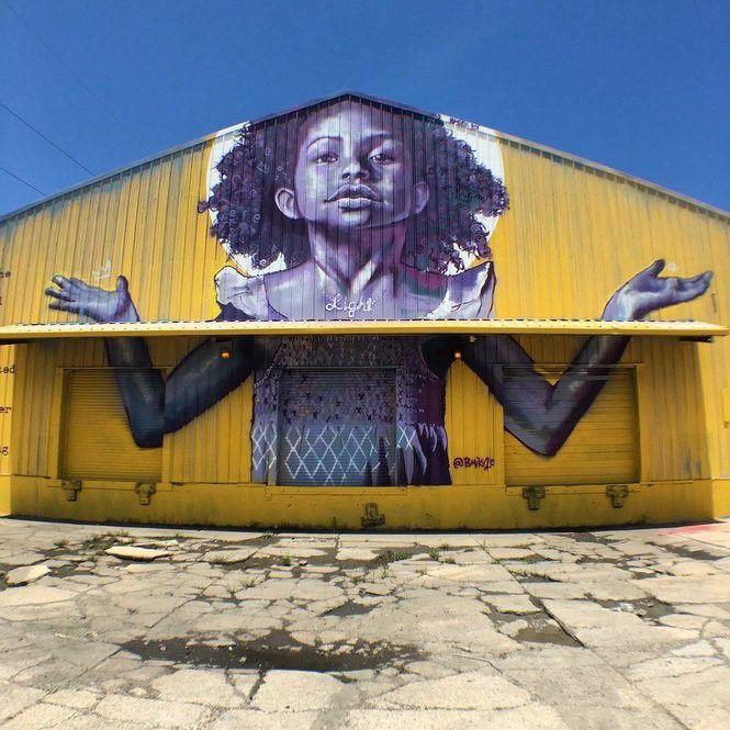 'Exhibit BE' artist Brandan Odums'  yellow girl