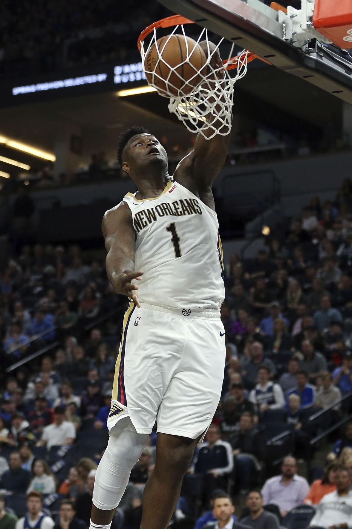 APTOPIX Pelicans Timberwolves Basketball