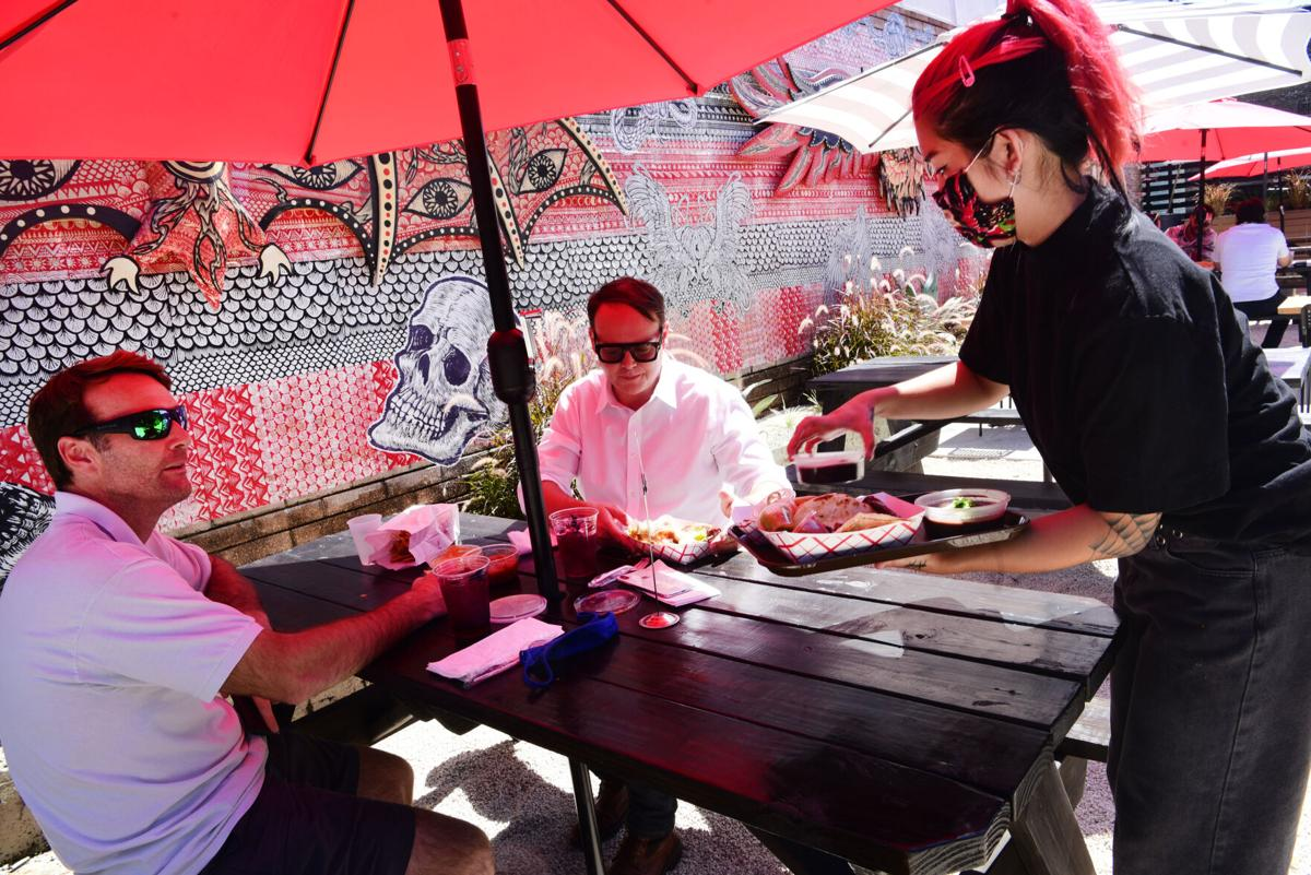El Cucuy serves tacos and Mexican food in Uptown