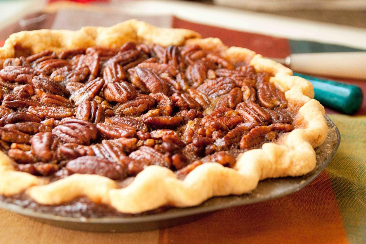 Pecan pie file photo