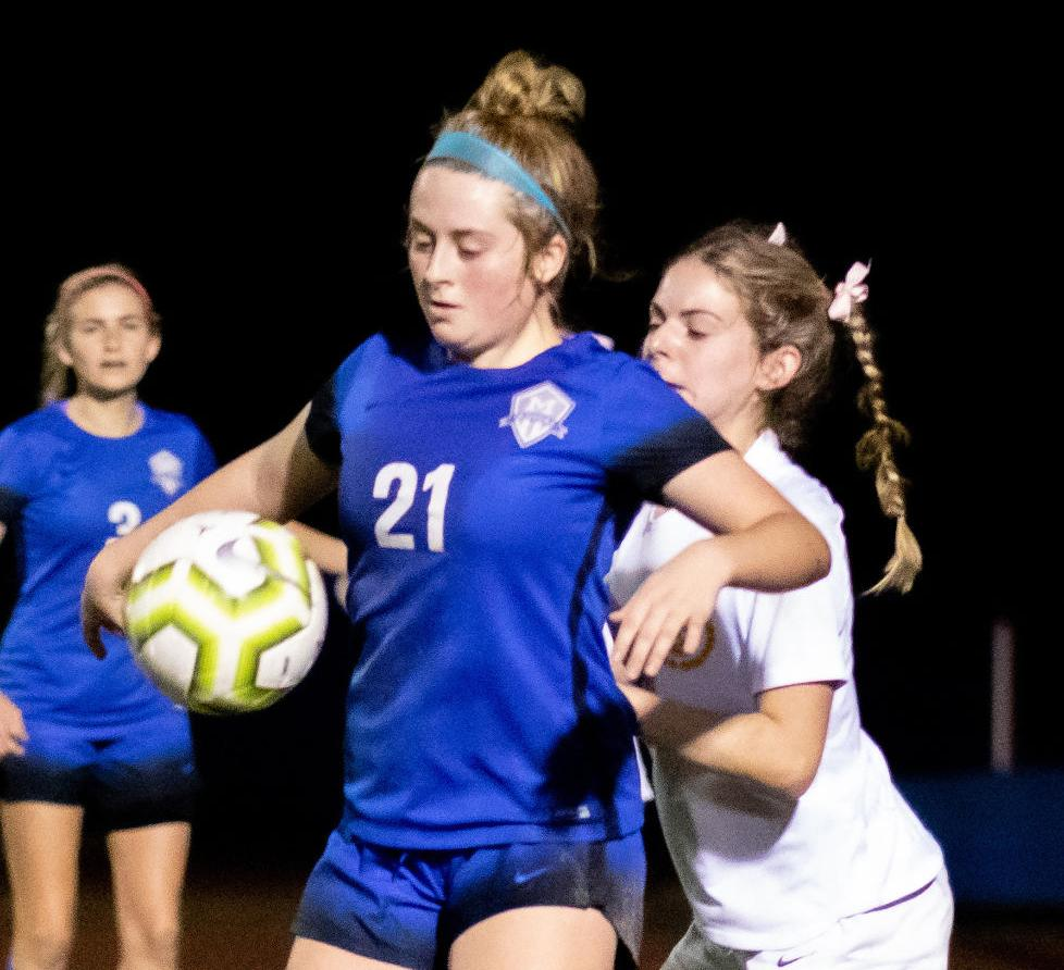 Mandeville vs. Byrd, girls soccer
