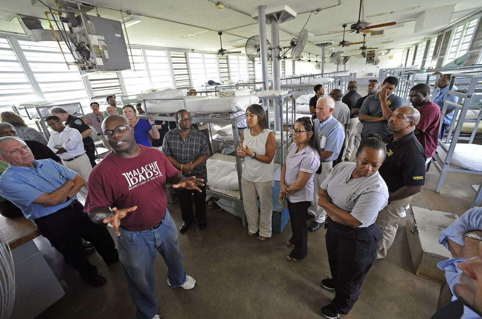 Special Angola program aims to ease ex-cons' re-entry into society and workforce _lowres