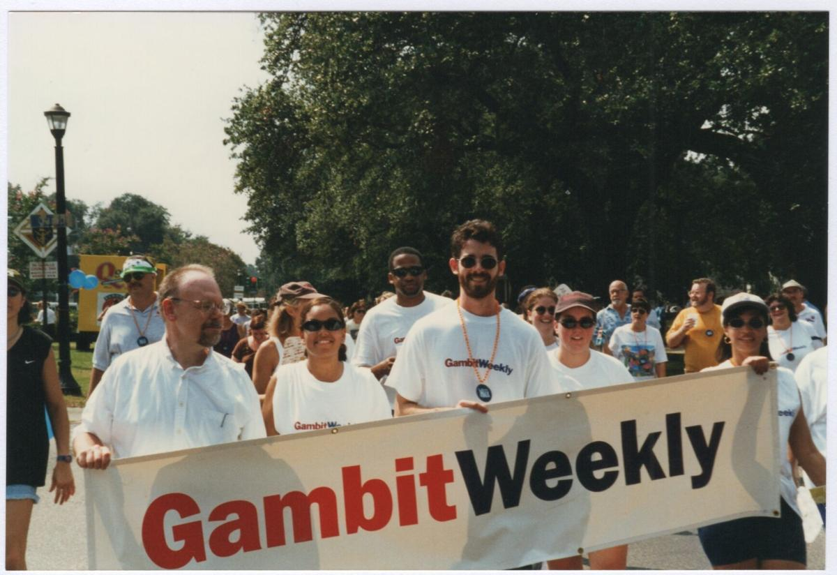 Gambit 1997 no/aids task force aids walk