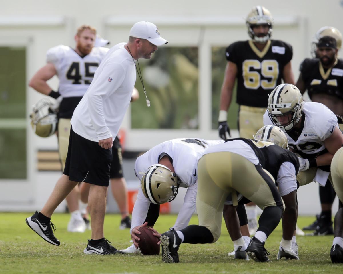 Darren Rizzi: Saints camp sunday