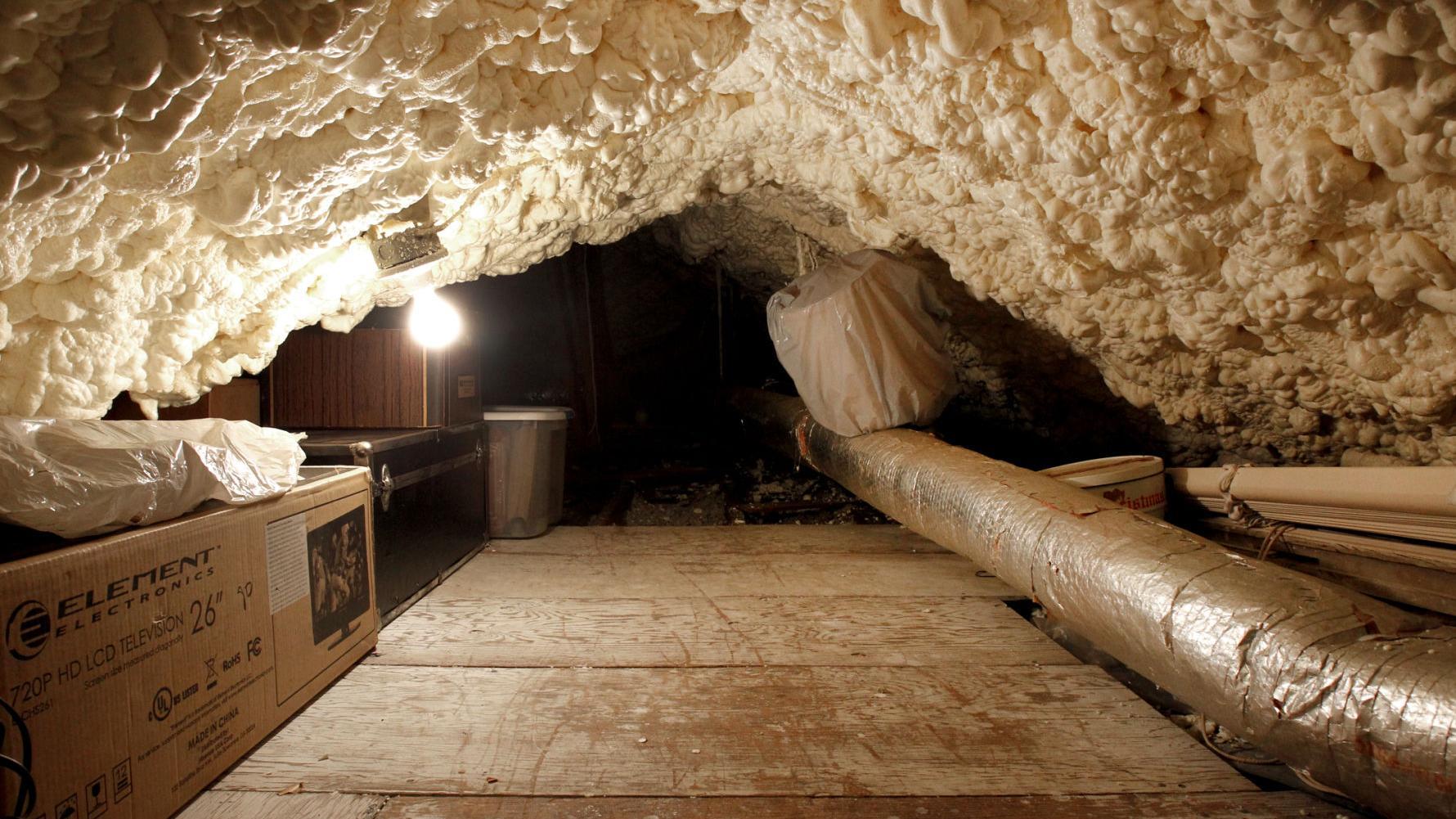 Green Living: Spray foam insulation keeps homes warmer, but beware these  common problems | Home/Garden | nola.com