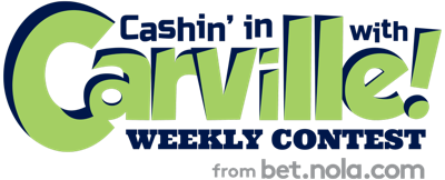 Cashin' in with Carville logo