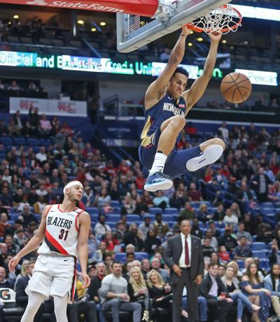 Portland Trail Blazers at New Orleans Pelicans 3/15/19