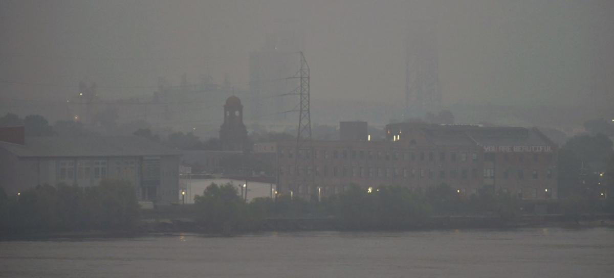 Saharan dust in New Orleans