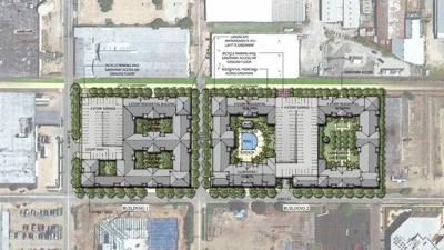 Mid-City apartment complex on Lafitte Greenway opens its first units in May