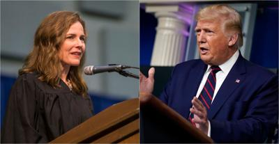 Trump To Nominate Conservative Amy Coney Barrett For Court