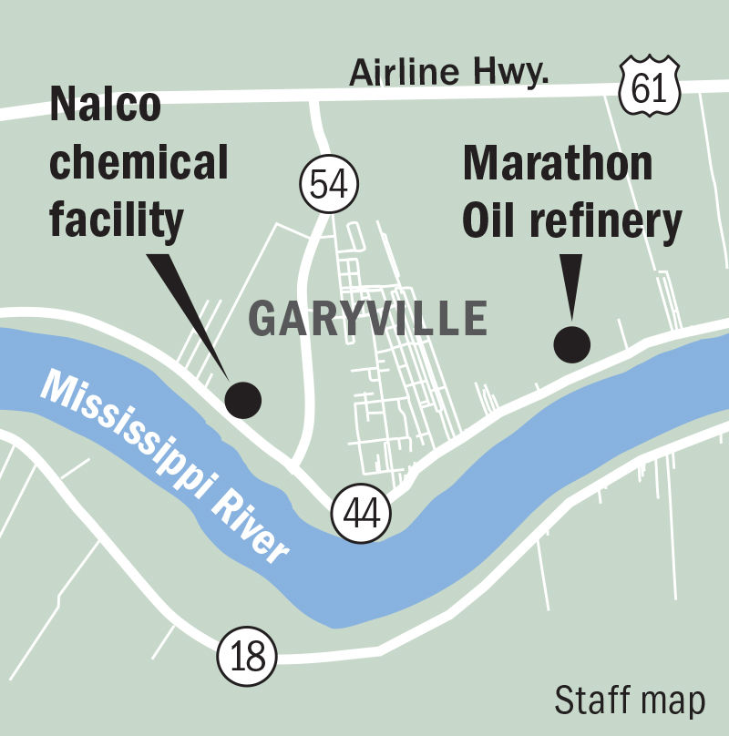 112019 Garyville Marathon Petroleum and Nalco