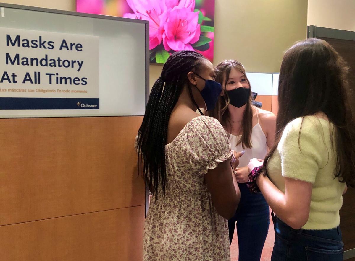 Teens get Pfizer vaccine
