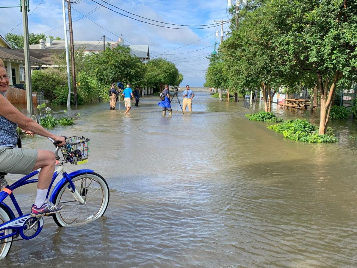 Mandeville streets flood after Cristobal