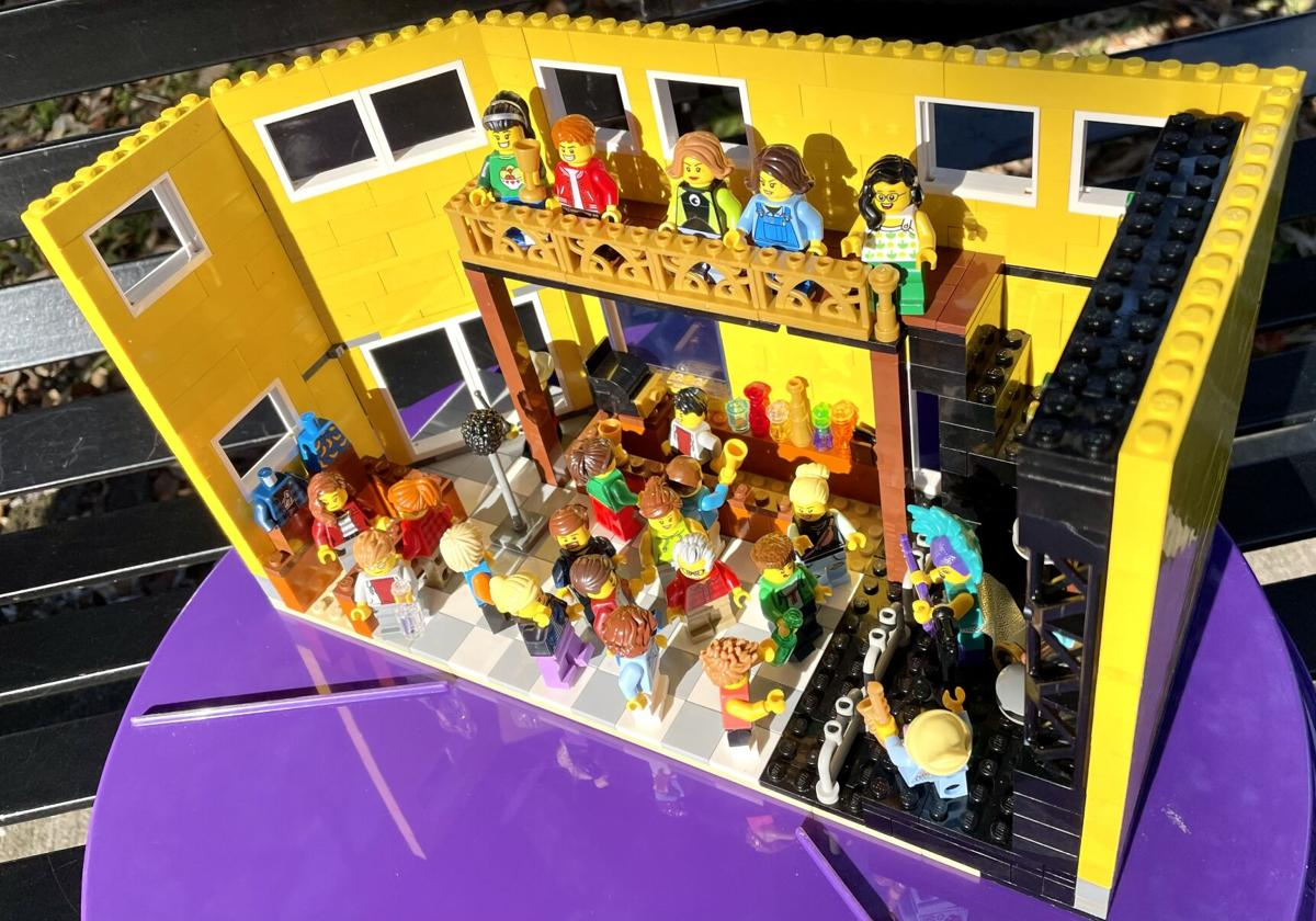 Amy Murphy's LEGO model of Tipitina's nightclub is composed of between 500 and 600 plastic bricks and figurines.jpeg