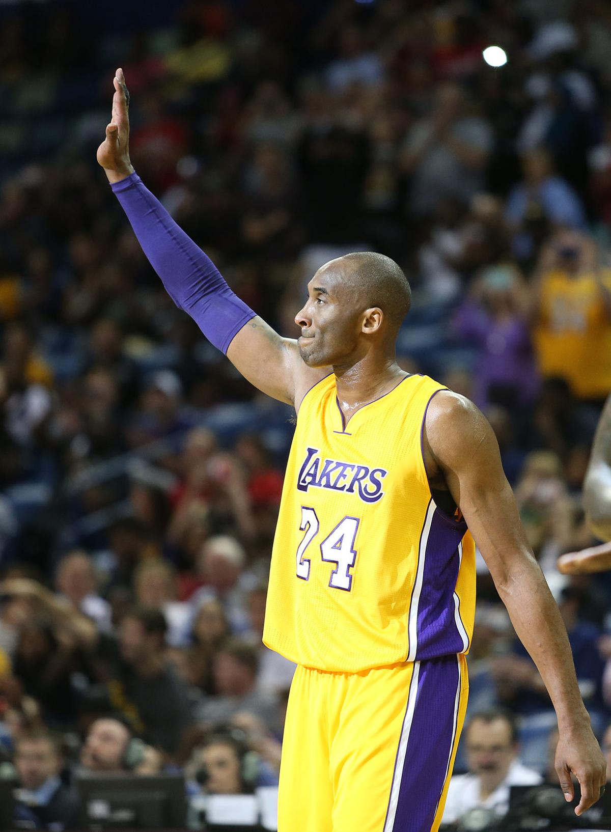 Kobe Bryant Kobe: Los Angeles Lakers at New Orleans Pelicans