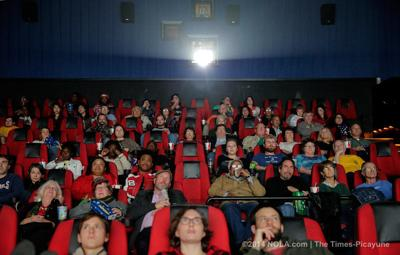 Movie-goers sell out 'The Interview' screening in Chalmette on Christmas Day (copy)