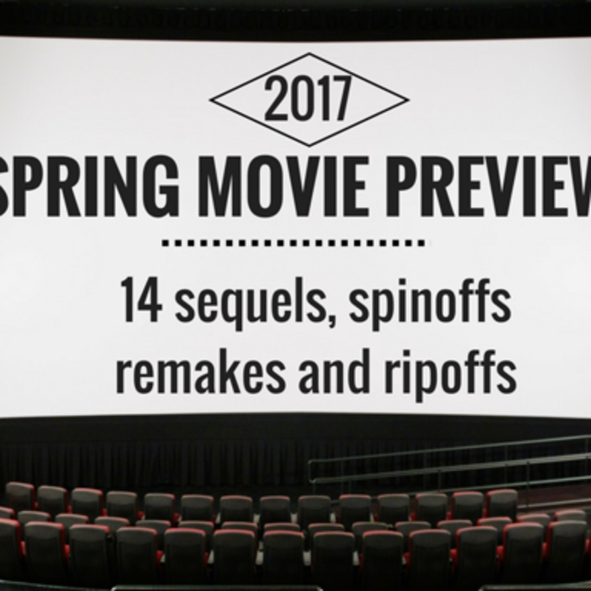 2017 Spring Movie Preview: 14 sequels, spinoffs, remakes and ripoffs