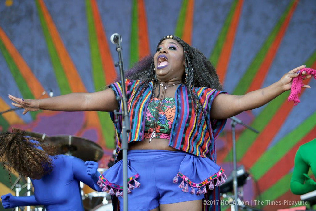 Tank and the Bangas play it safe - NOT - at New Orleans Jazz Fest