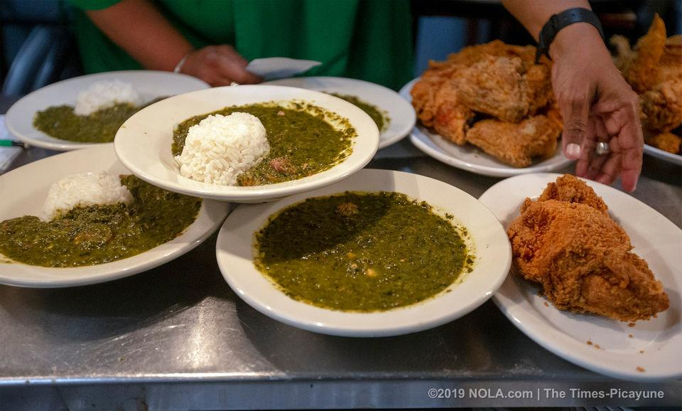 Dooky Chase's gumbo z'herbes goes curbside to keep a New Orleans tradition rolling