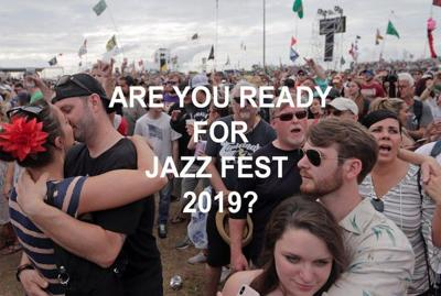 When is New Orleans Jazz and Heritage Festival 2019?