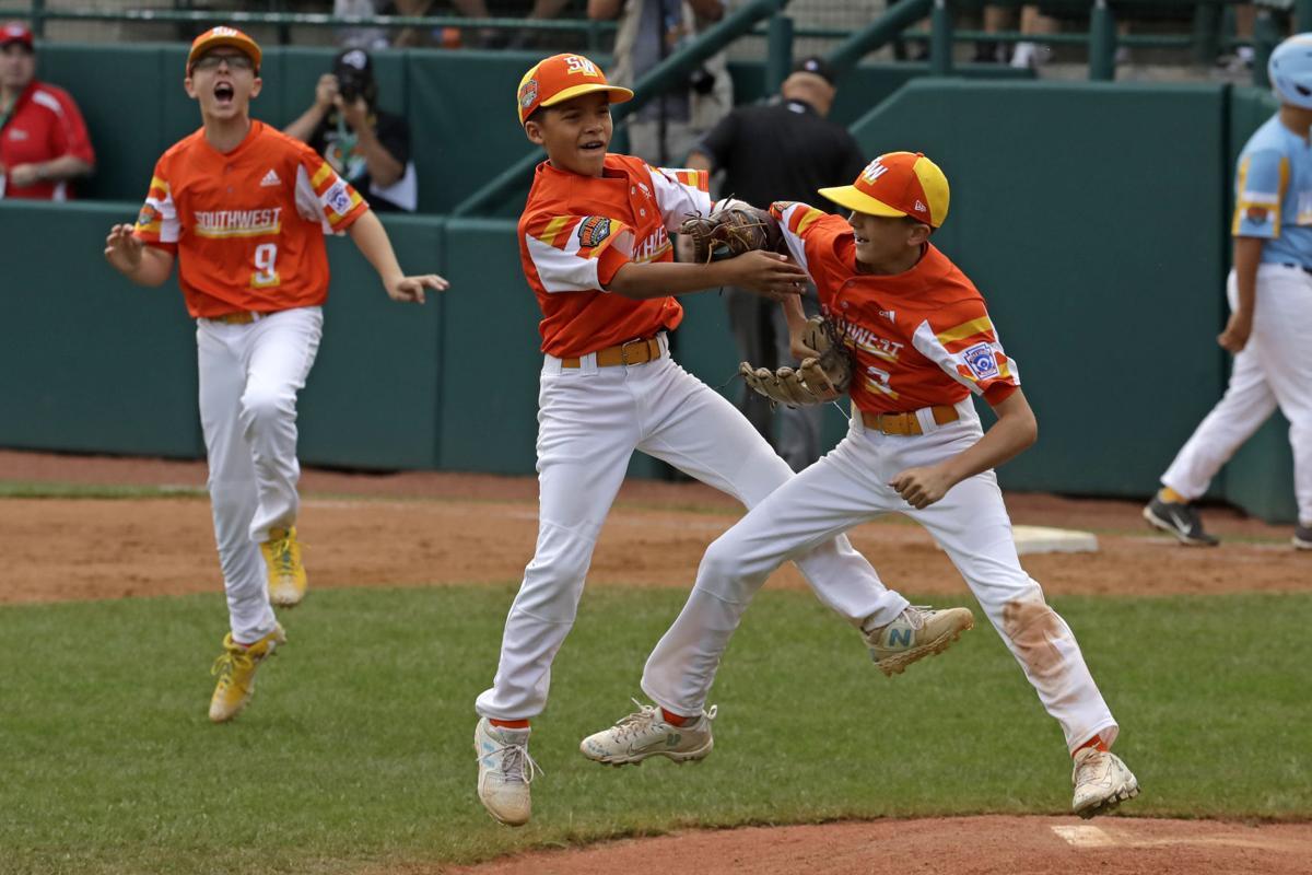 LLWS Hawaii Louisiana Baseball