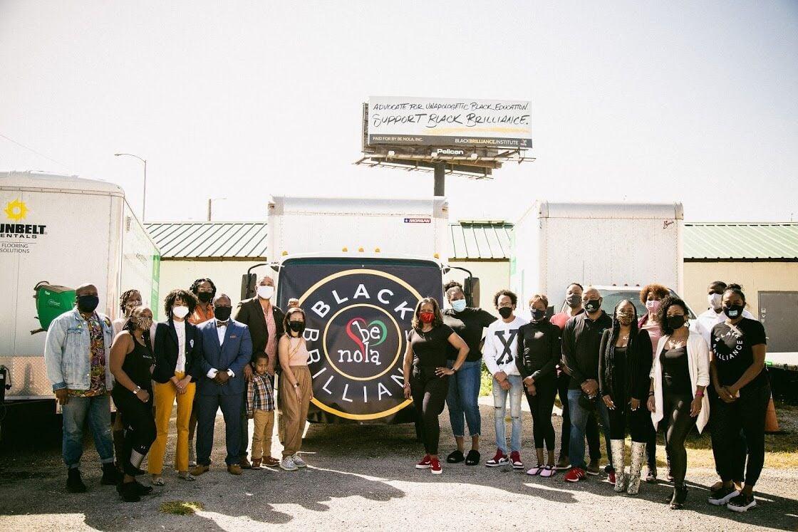 """BE NOLA """"Black Brilliance"""" campaign"""