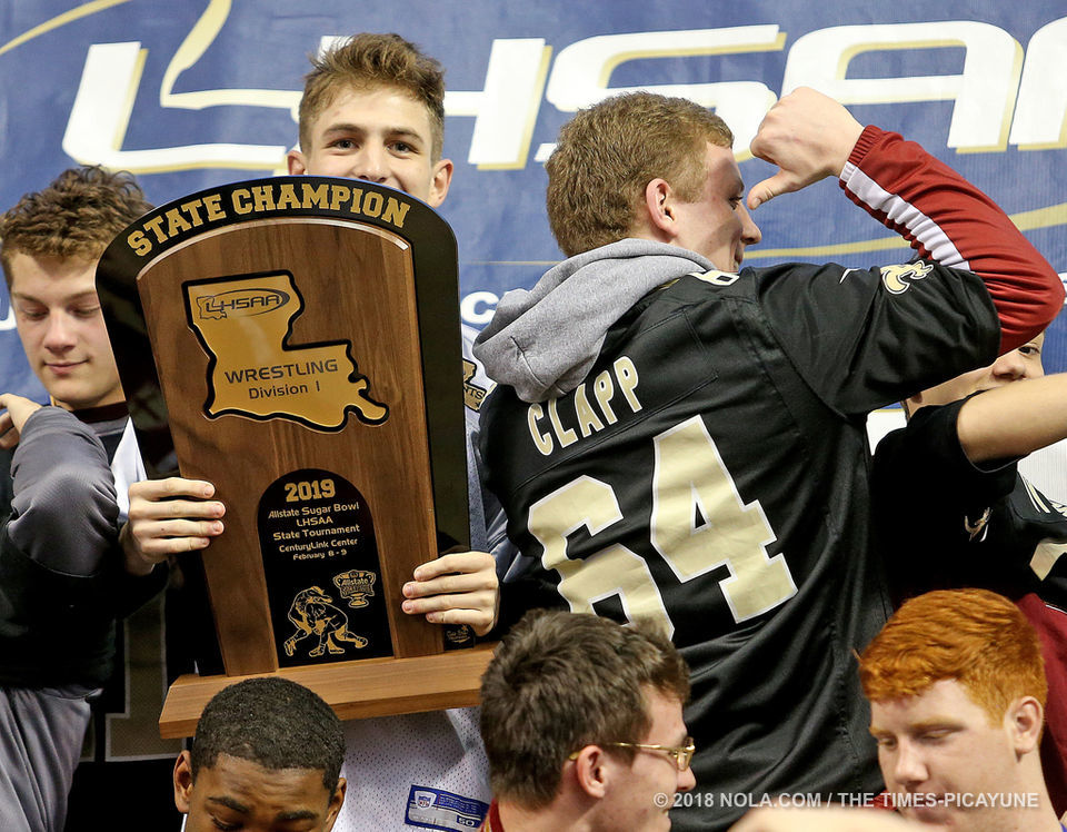 LHSAA state wrestling championships: Photos from Bossier City of metro area champions