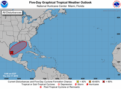 Tropical Storm Nestor likely to form in Gulf of Mexico ... on