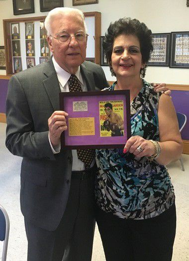 In a long overdue honor, Warren Easton inducts boxer Willie Pastrano into its Hall of Fame