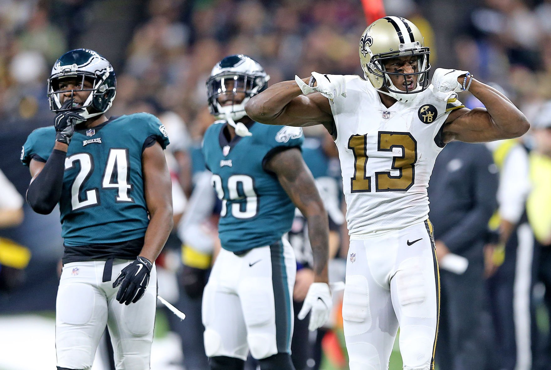 Saints to wear popular 'Color Rush' jerseys in showdown with ...