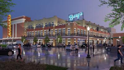 Barq's building in downtown Biloxi