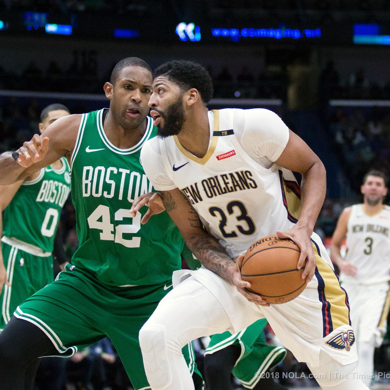 quality design 82d2b 7891e Celtics, Lakers 'engaged' with the Pelicans on trade talks ...