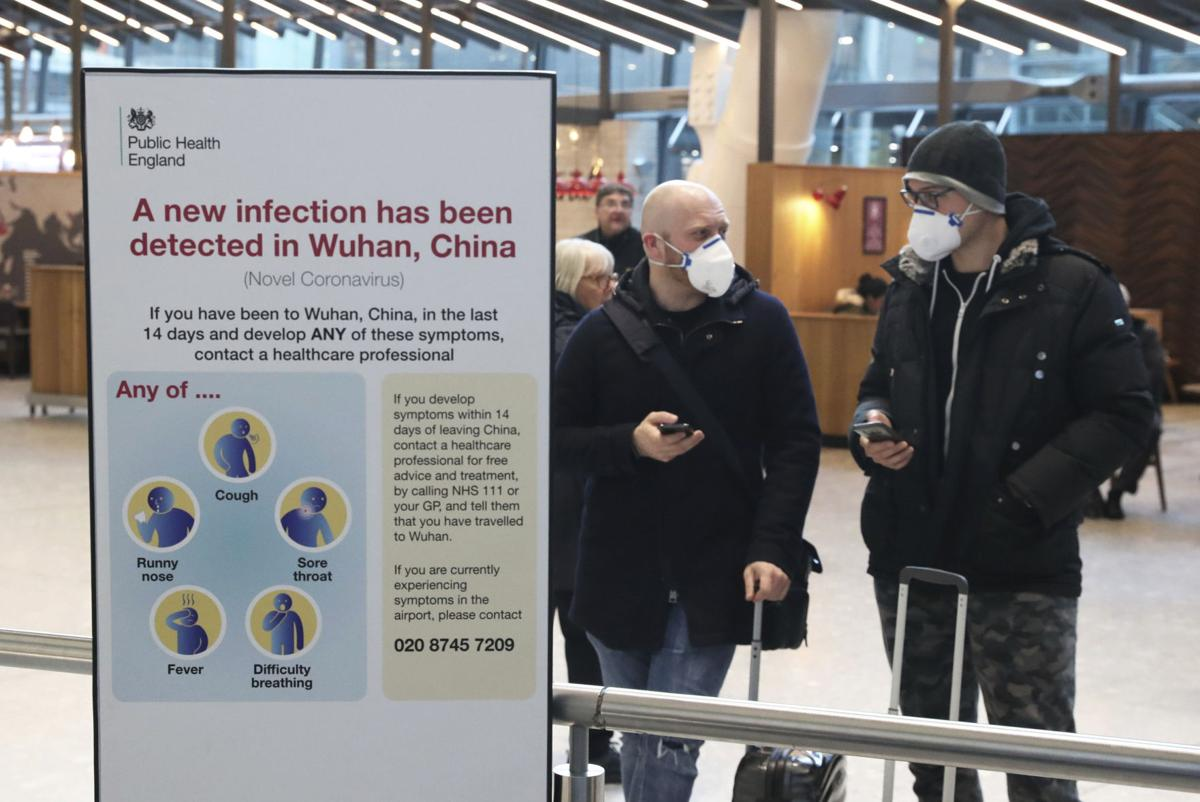 Britain China Outbreak