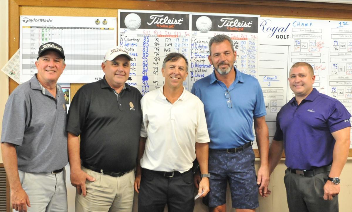 Jeandron and D'Antoni Championship Flight Winners