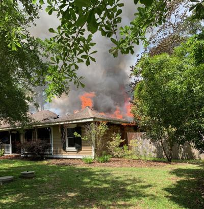 Pets perish, Slidell home destroyed in fire