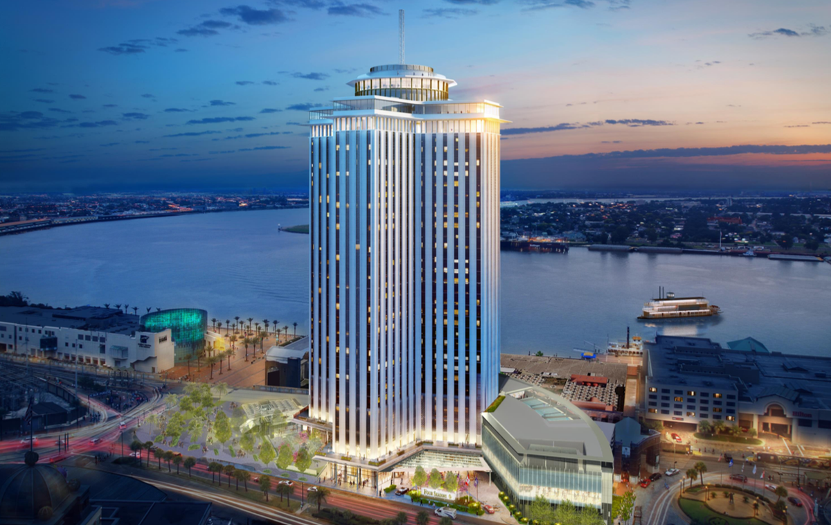 The Four Seasons project at the World Trade Center is one step closer to construction