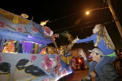 What Mardi Gras parades are left in Metairie?