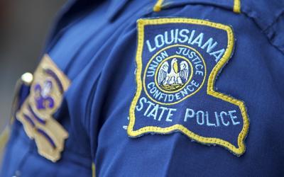 Louisiana State Police badge crime file