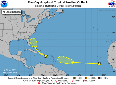 tropical weather update 073019