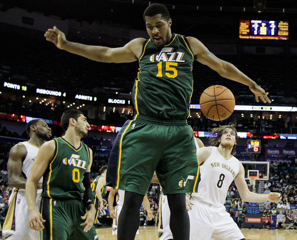 Pelicans unable to make successful late push and lose to Utah Jazz, 100-96